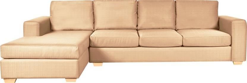 FabHomeDecor Atlas Fabric 4 Seater Sofa