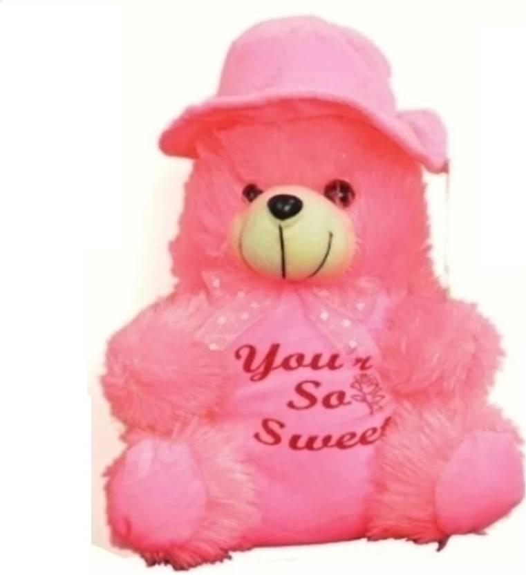 ktkashish toys pink cute teddy bear 40 cm pink cute teddy bear