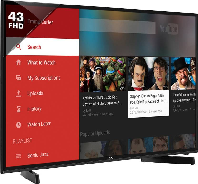 Vu 109cm (43) Full HD Smart LED TV