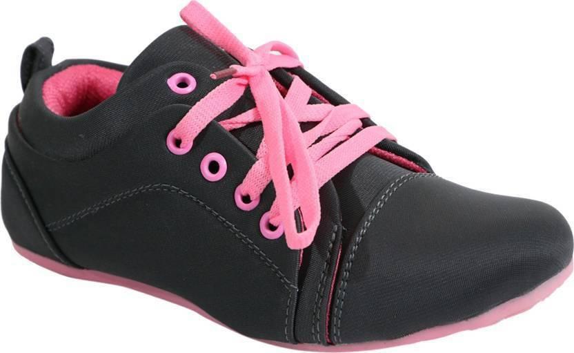 b9baa3bb7df2 HOCO LOCO Canvas Shoes For Women - Buy Grey Color HOCO LOCO Canvas ...