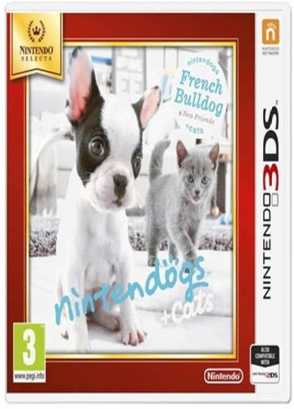 Nintendo Nintendogs + Cats - French Bulldog Selects (3DS