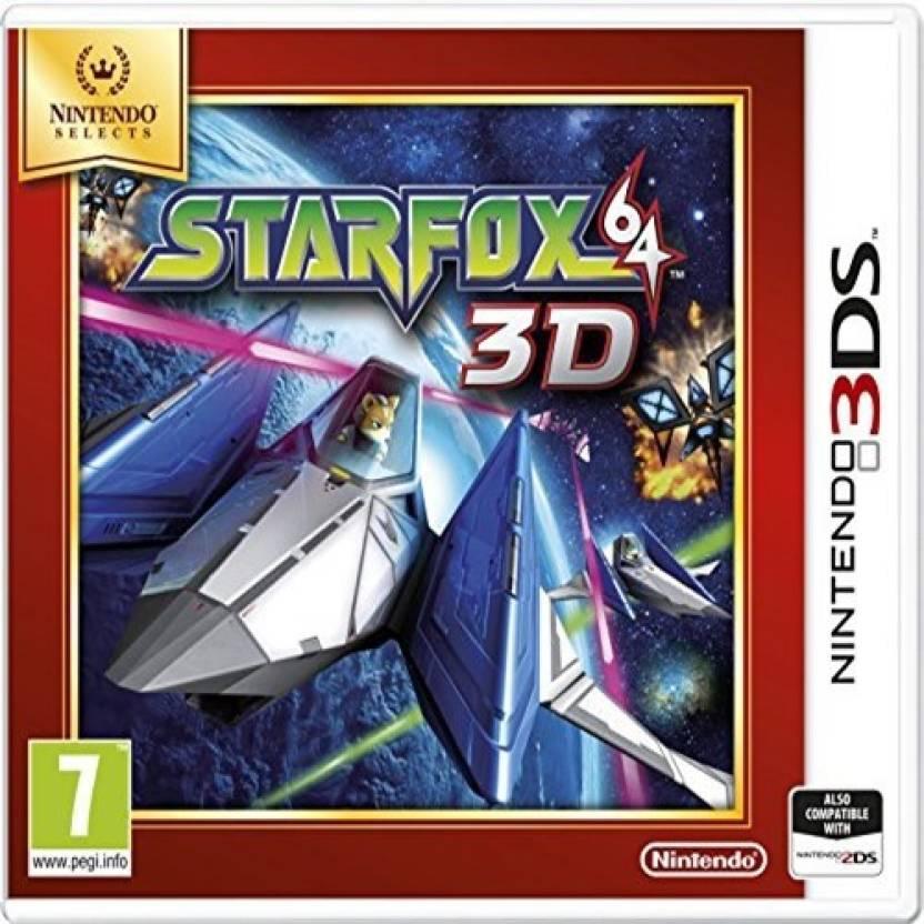 Nintendo StarFox 64 (3DS Video Game - PAL Version) Gaming