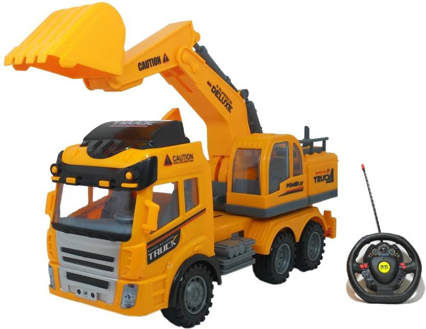 Halo Nation Remote Control Crane Mounted Truck Construction Toy With