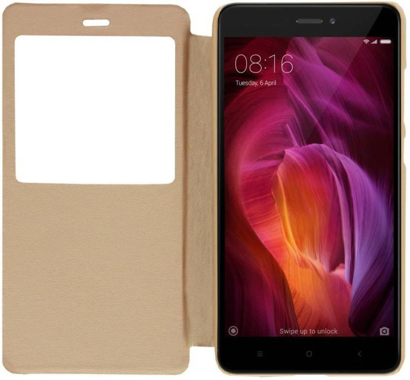 outlet store ba557 7ddbb Marshland Flip Cover for Mi Redmi Note 4