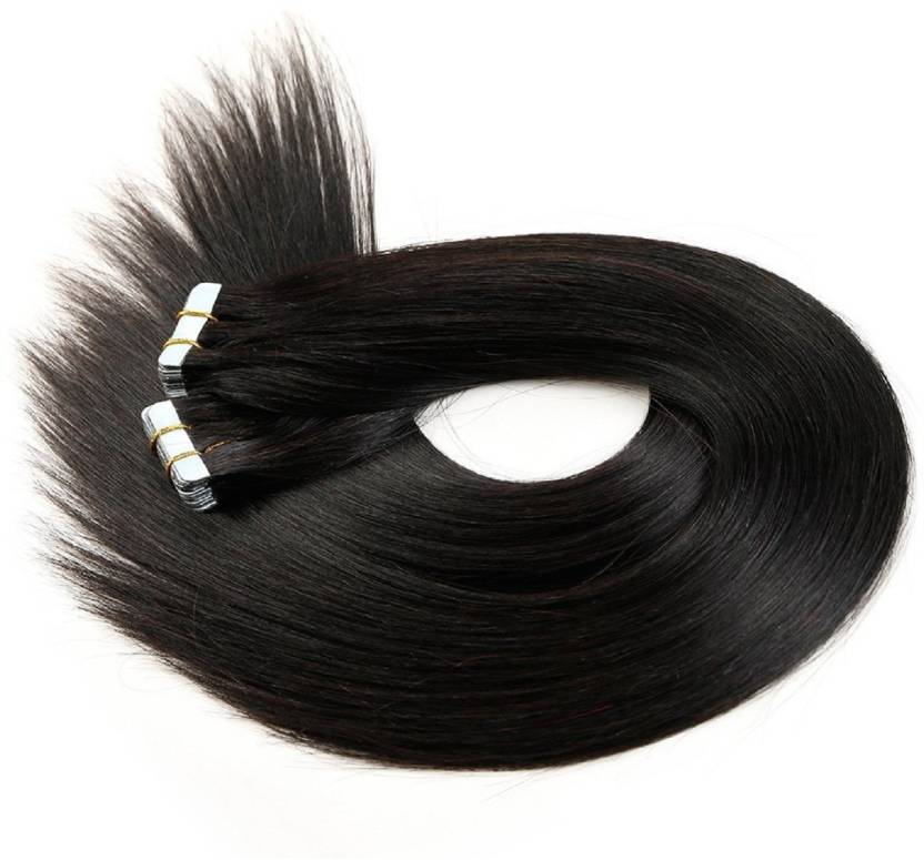 Kabello Tape In Human Slilky Straight Skin Weft Remy 26 Inch 100