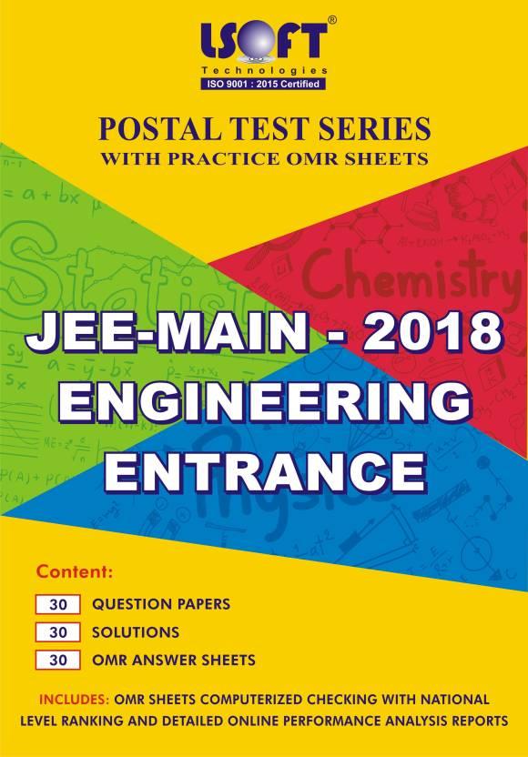 JEE-MAIN 2018 – PCM Postal Test series. : Includes 90 Question ...