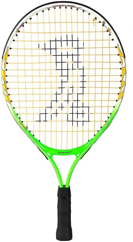 Atoo Kids Size Tennis Racquets With Full Padded Er 19 Inch Multicolor Strung