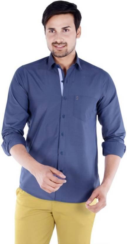 51a2cc00e56 S9 Fashion Men Solid Casual Grey