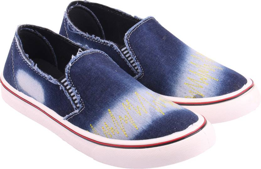 World Wear Footwear Blue_1003 Loafers