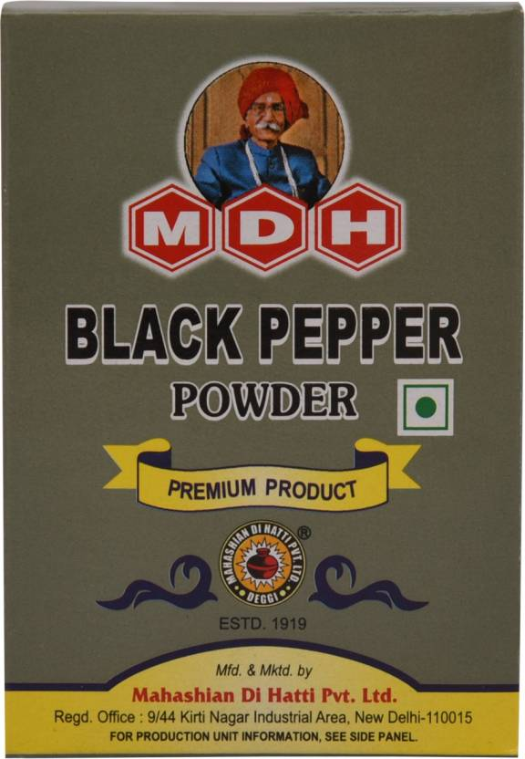 MDH Black Pepper Powder Price in India - Buy MDH Black