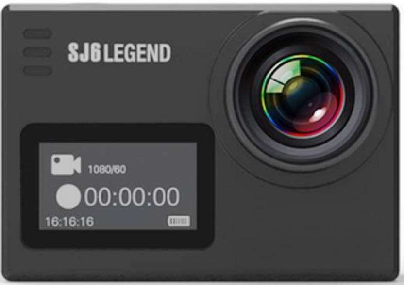 Mobilegear SJCAM SJ6 LEGEND 4K HD Sports & Action Camera(Black)