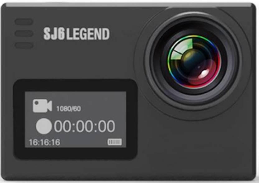 Mobilegear SJCAM SJ6 LEGEND 4K HD Sports & Action Camera(Black)
