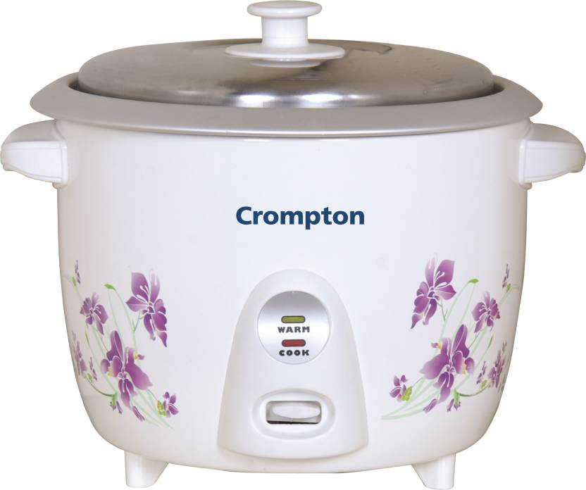 Crompton MRC61-I Electric Rice Cooker with Steaming Feature