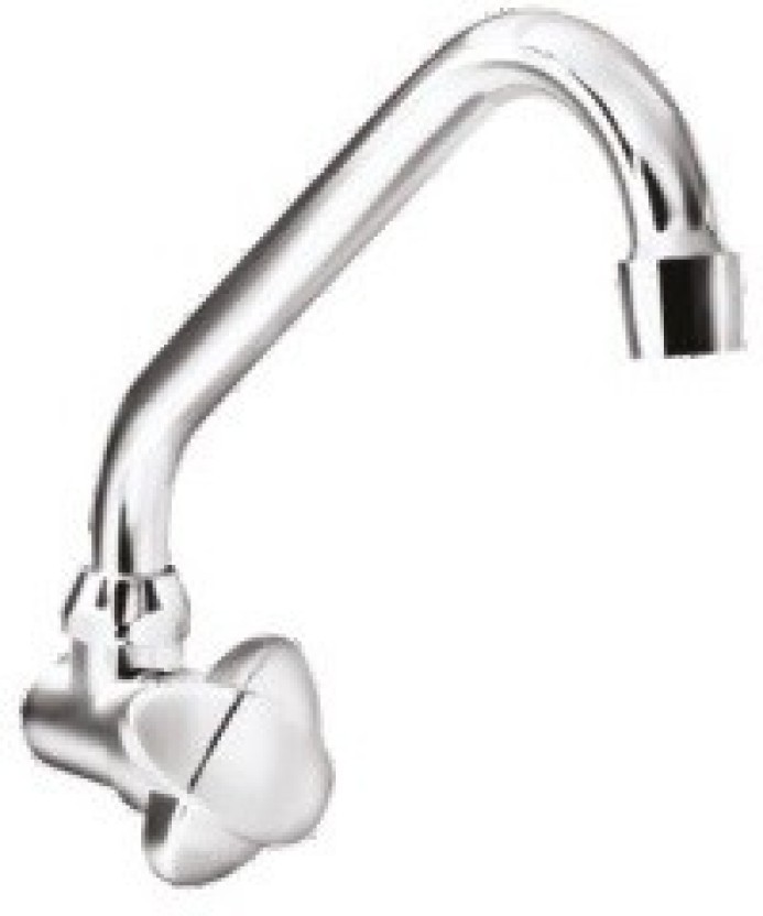 Parryware G3473a1 Amber Sink Cock With Wall Flange Bib Tap Faucet