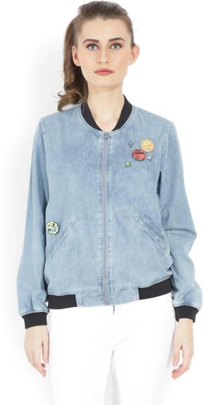 075f57cda5b Tokyo Talkies Full Sleeve Solid Women's Jacket - Buy LIGHT BLUE Tokyo  Talkies Full Sleeve Solid Women's Jacket Online at Best Prices in India |  Flipkart.com