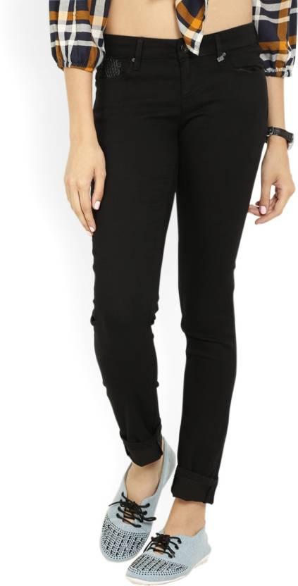 8f6883da86d Lee Skinny Women Black Jeans - Buy JET BLACK SD