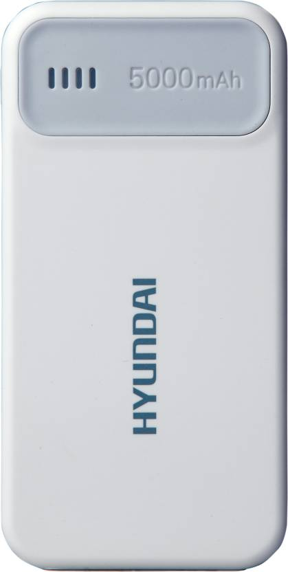 Hyundai MPB 50W Ultra Slim Portable  5000 mAh Power Bank
