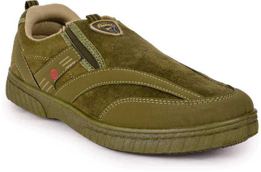 Action Olive Ballerinas