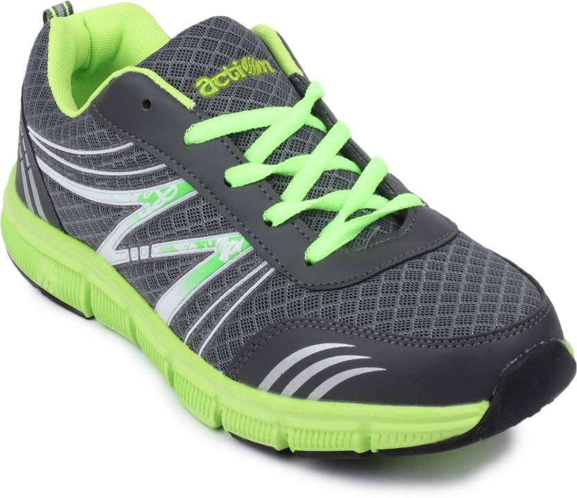 d81ca5a48e90 Action Shoes Running Shoes For Men - Buy BMB-701-GREY-GREEN Color ...