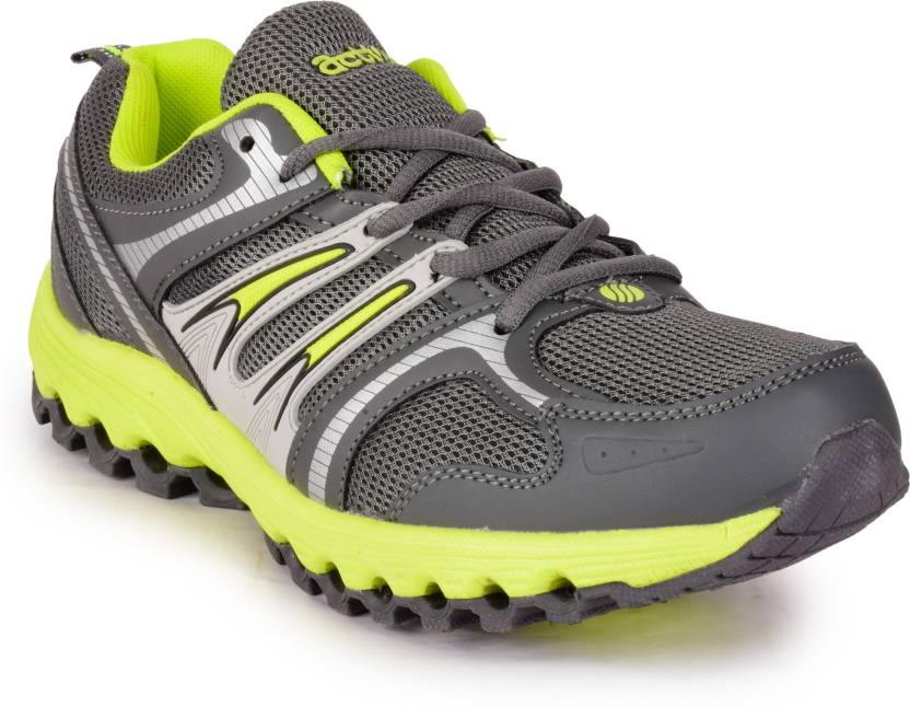 6126dbf1b9c7 Action Shoes Running Shoes For Men - Buy N-63-GREY-GREEN Color ...