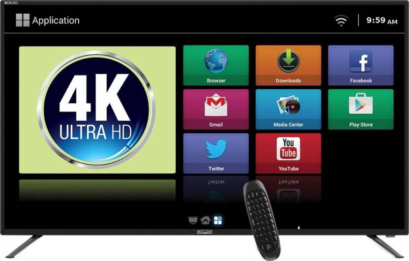 Mitashi 123.19cm (49 inch) Ultra HD (4K) LED Smart TV