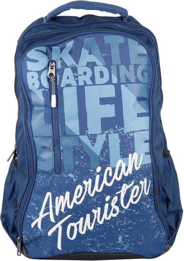 American Tourister MAMBO 01 BLUE 2017 28 L Laptop Backpack IND BLUE ... 10d5c6e073e56