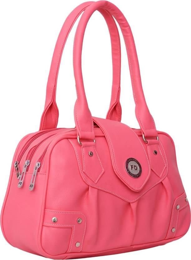 Buy FD Fashion Hand-held Bag Pink Online @ Best Price in ...