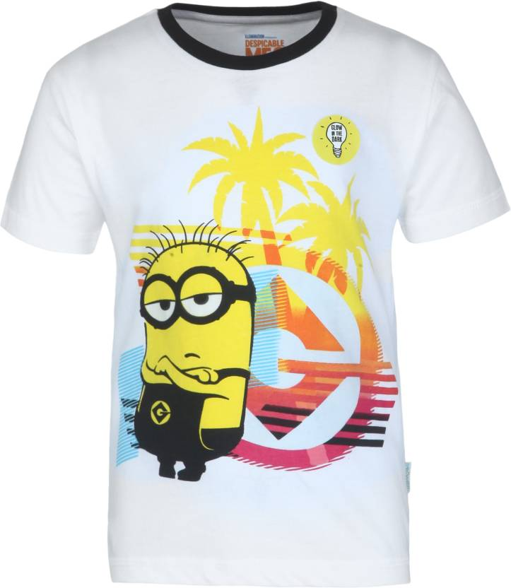 27f0b370 Minions Boys Graphic Print Cotton T Shirt Price in India - Buy ...