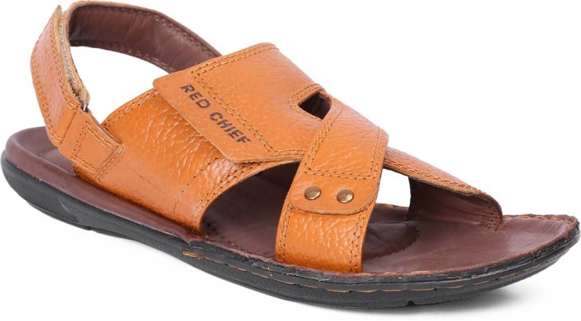 b41e30a96b01e Red Chief Men ELEPHANT TAN Sandals - Buy Red Chief Men ELEPHANT TAN Sandals  Online at Best Price - Shop Online for Footwears in India