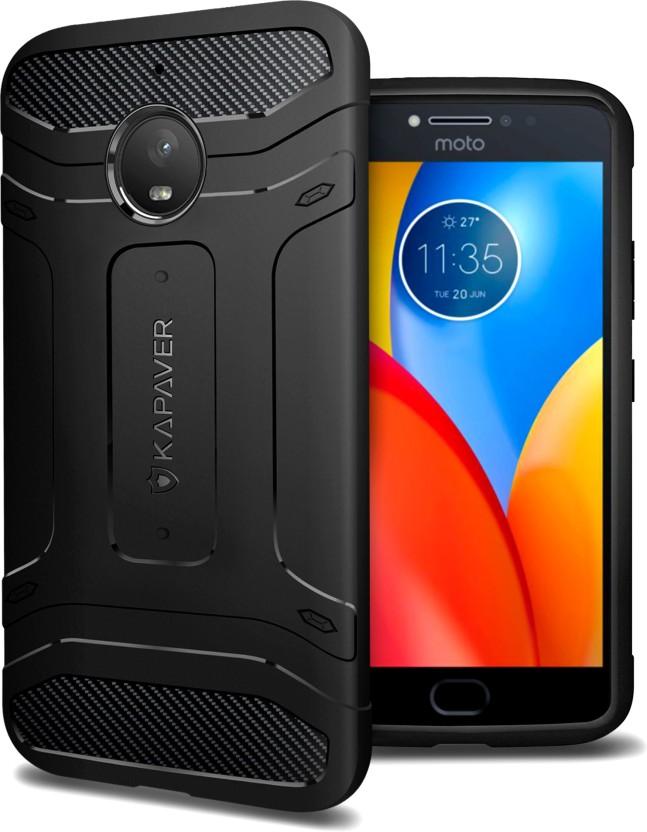 Kapaver Back Cover For Motorola Moto E4 Plus