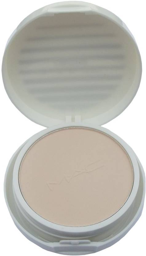 KASCN LIGHTFUL MAC MARINE 2 IN 1 BRIGHT PRESS POWDER AND FOUNDATION FOR  LIGHT AND MEDIUM SKIN Compact