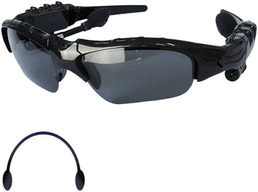 16d41cca50163 VibeX ™ Sports Sunglasses MP3 Audio Player Music Foldable Headphone (Smart  Glasses)