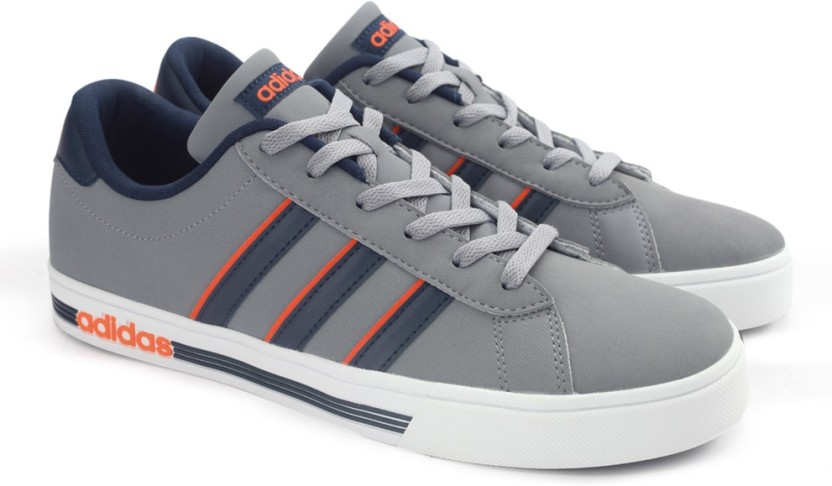 d60bcdeb2e3 good adidas neo daily team blue orange men sneakers shoes c0912 8c2ff