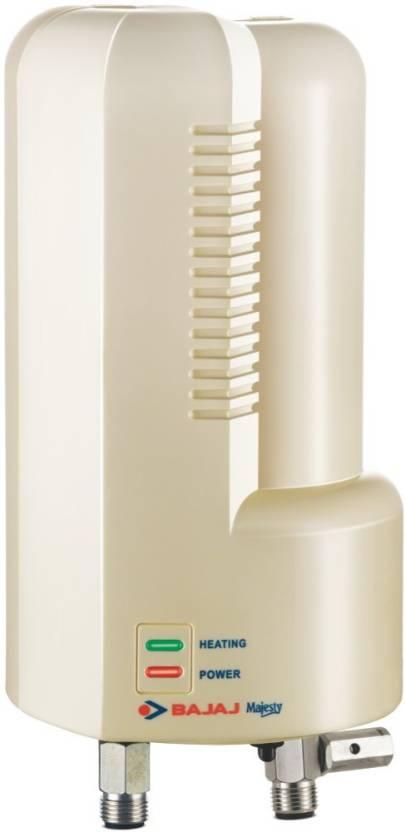 Bajaj 1 L Instant Water Geyser  (Ivory, Majesty Instant - 150482)-17% OFF