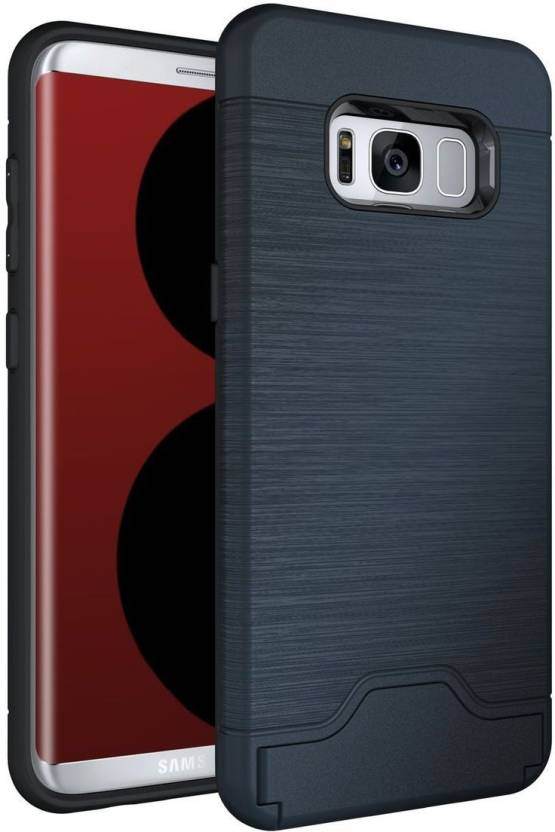 Zouk Wallet Case Cover for Samsung Galaxy S8 Navy Blue