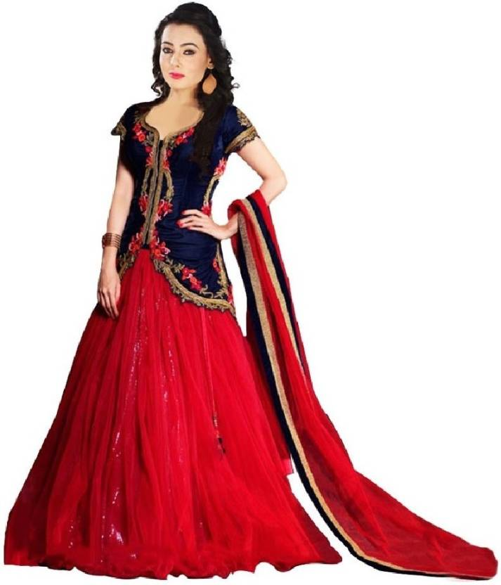 PURVA ART Self Design Traditional Lehenga