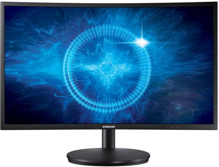 Samsung 24 inch Curved Full HD LED Backlit Gaming Monitor  (LC24FG70FQWXXL)