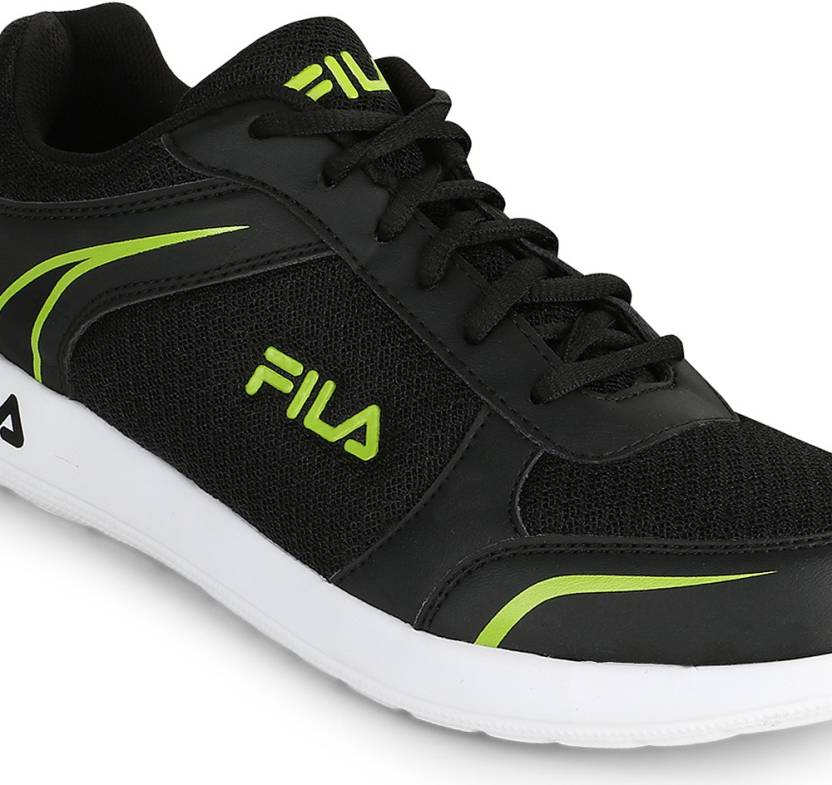 Fila WADE Running Shoes  (Black)