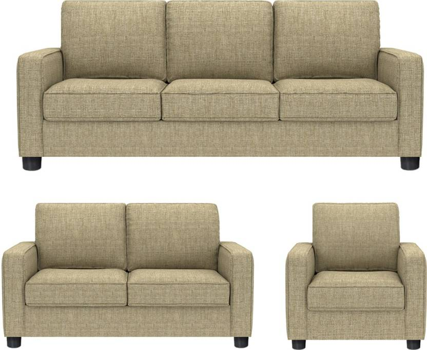 Remarkable Gioteak Fabric 3 2 1 Beige Sofa Set Price In India Buy Pabps2019 Chair Design Images Pabps2019Com