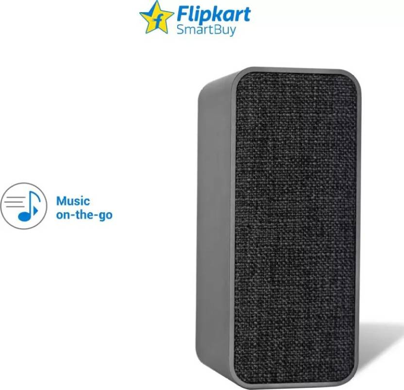 Flipkart SmartBuy 5W Powerful Bass Bluetooth Speaker Grey, Mono Channel  Flipkart SmartBuy Speakers