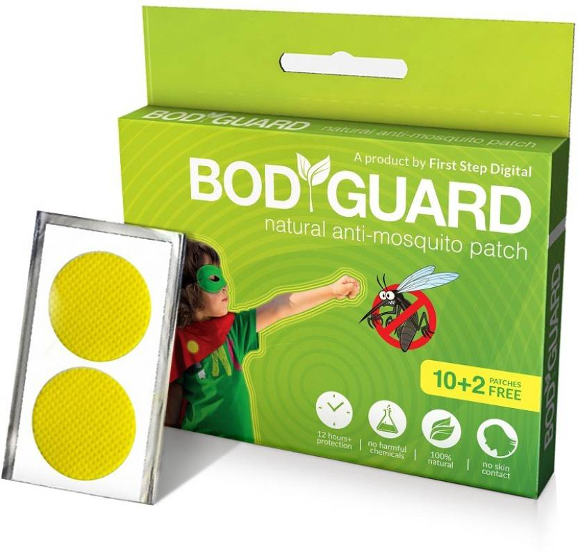Bodyguard Natural Anti Mosquito Repellent 10 2 Patches Buy