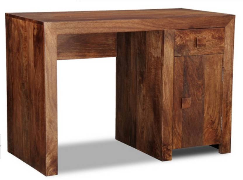 The Attic Solid Wood Study Table Price In India Buy The Attic