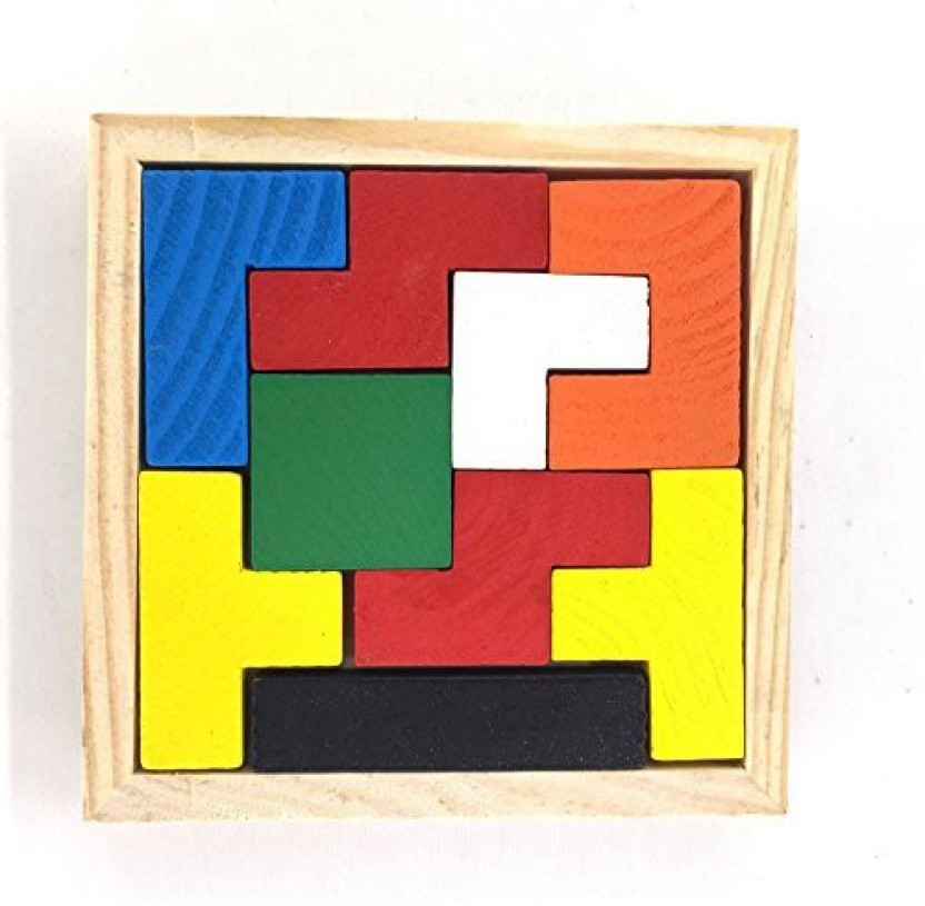 Brain Teaser Cube Puzzle Toy Puzzles Wooden Puzzles Jigsaw Educational Lock LI