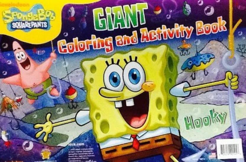 Nickelodeon Spongebob Squarepants ~ Hooky! ~ Oversized Giant ...