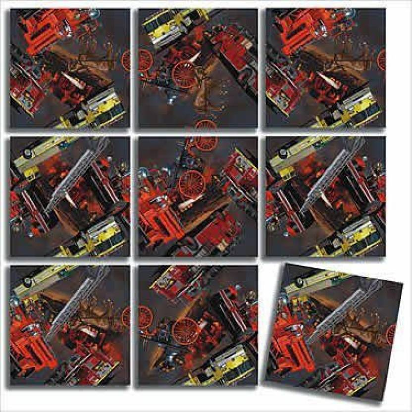 B Dazzle Firefighter Scramble Squares Puzzle - Firefighter