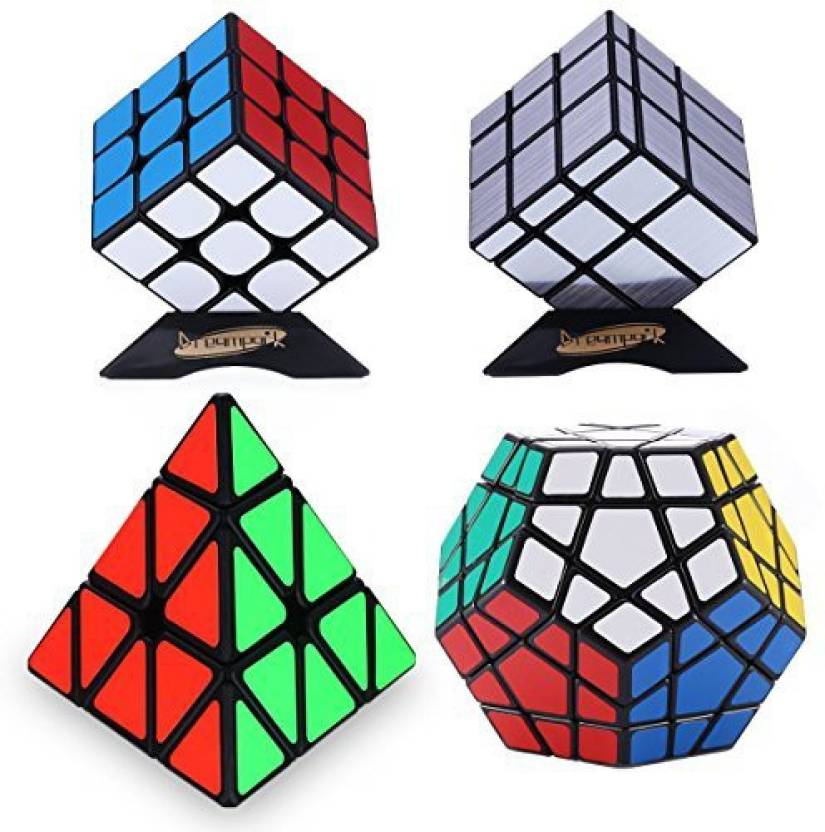 159fbd29a045 Dreampark Populer Magic Cube Puzzle Bundle - Includes 3X3 Speed Cube ...