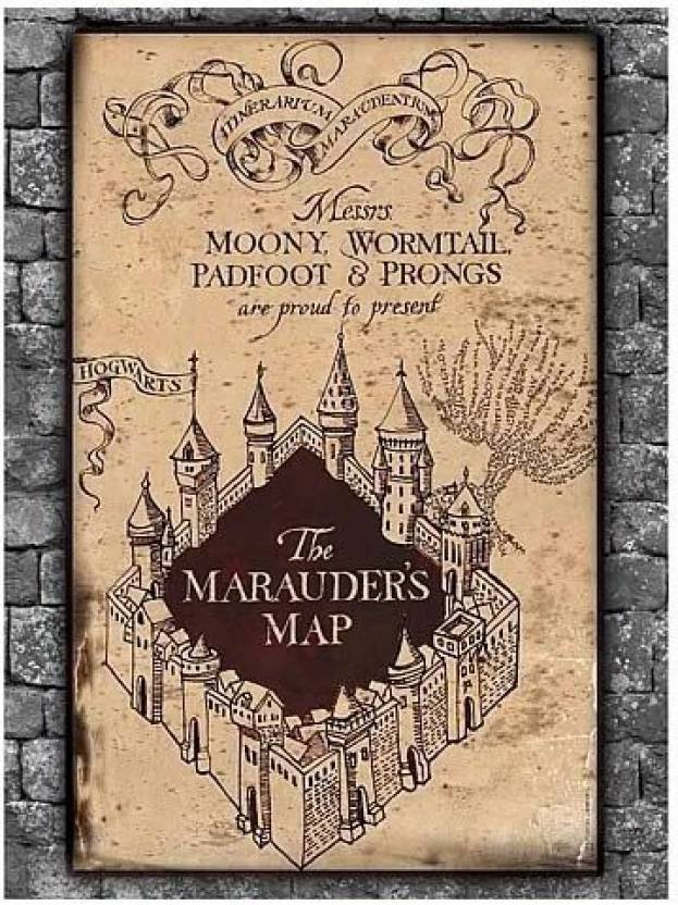Harry Potter Jigsaw Puzzle - Marauder'S Map - Jigsaw Puzzle ... on secret s map harry potter, map in game of thrones, map harry potter books, fictional map harry potter,