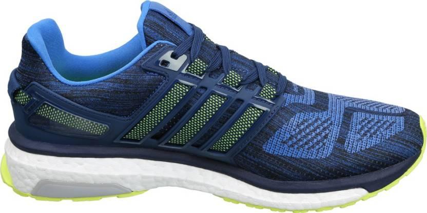 adidas energieschubs 3 m running schuhe für männer kaufen, blau / syello