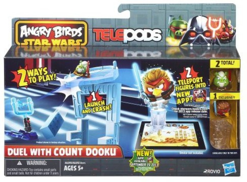 ANGRY BIRDS STAR WARS TELEPODS /& none Telepods-Angry Bird sets