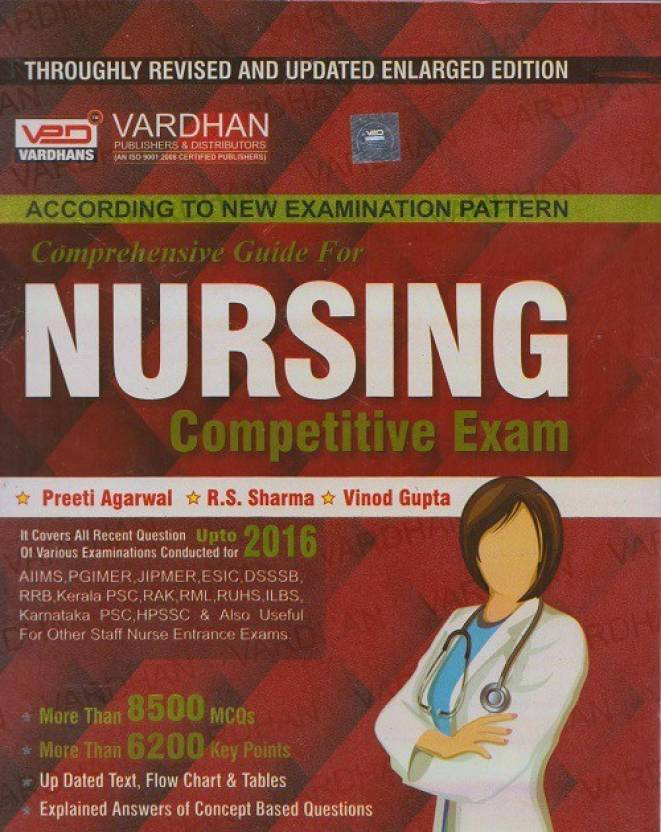 Nursing Competitive Exam Comprehensive Guide Vardhan Book: Buy